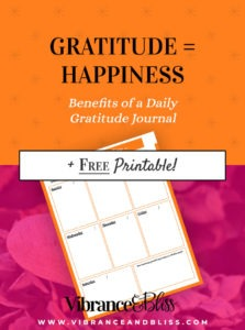 Regularly keeping a gratitude journal helps combat negative feelings and helps you focus on the positives in your life, even when life throws you challenges.